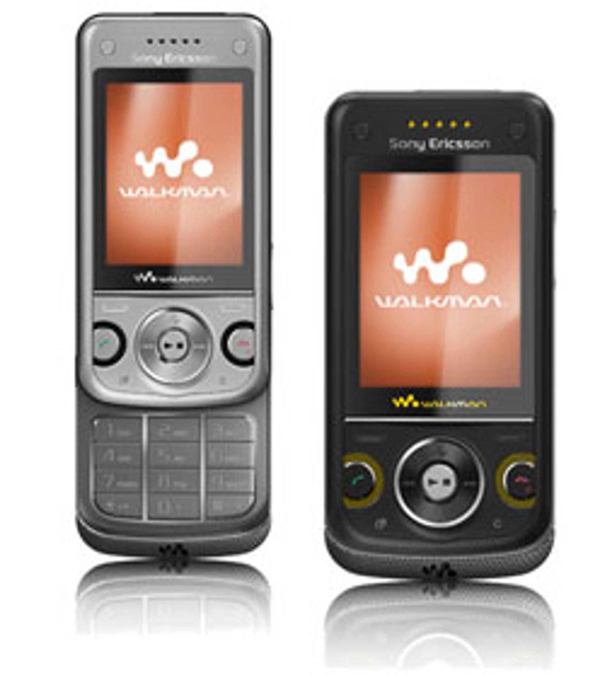 W760i er Sony Ericssons første GPS-Walkman.