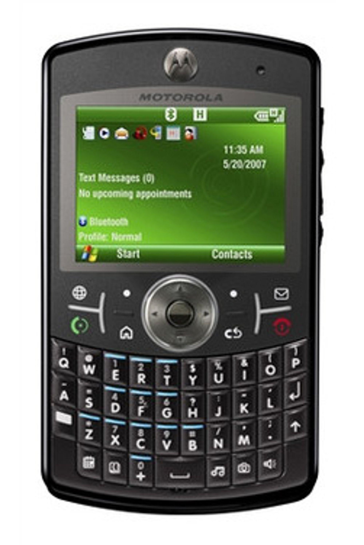 Er en ny versjon av Motorolas Q på vei? (Foto: Motorola)