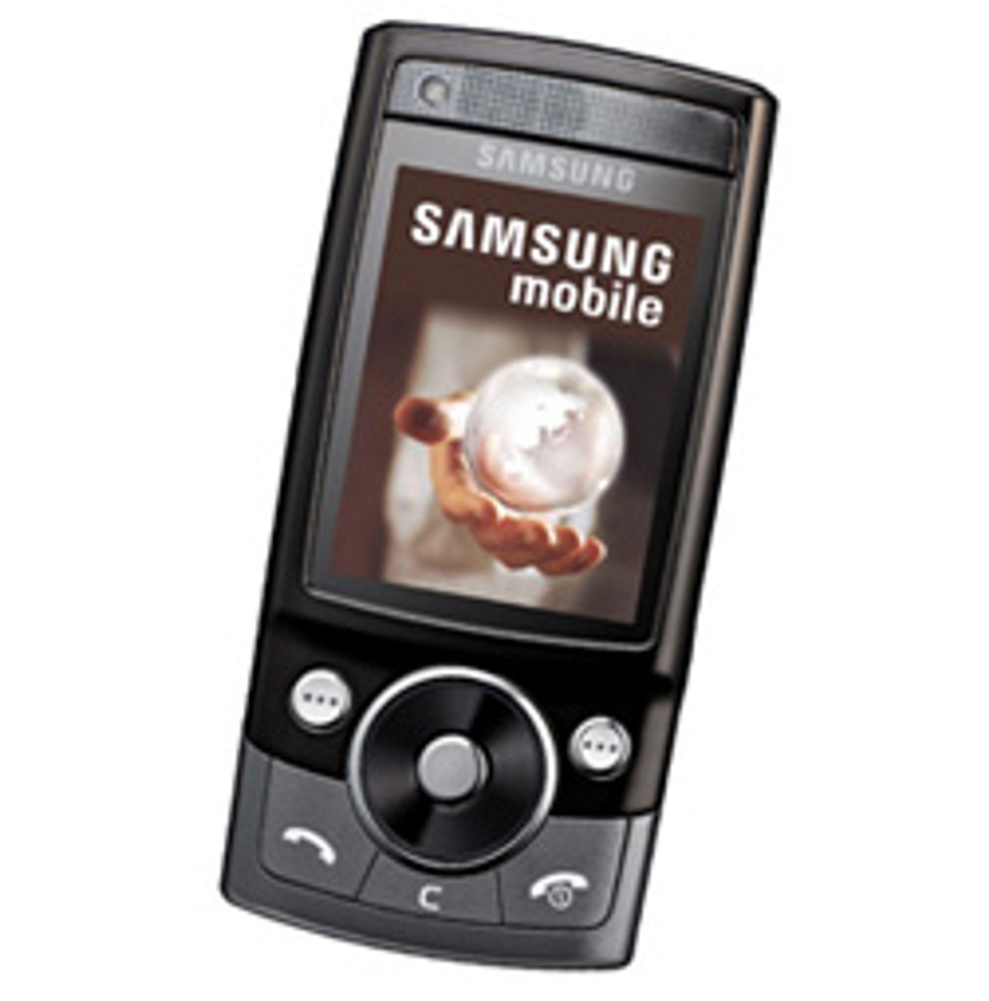 Samsungs G600. (Foto: Samsung)