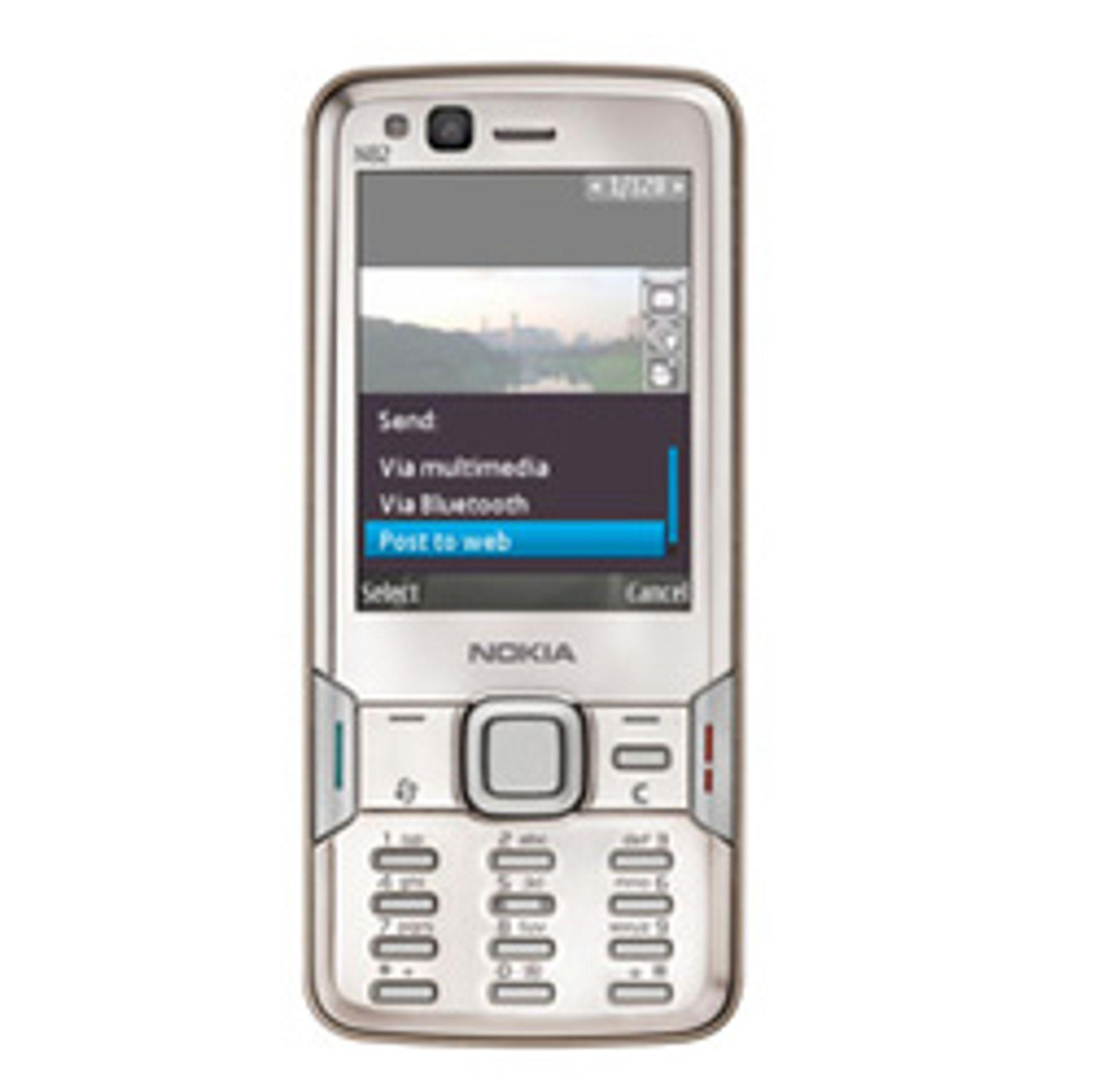 Nokias N82. (Foto: Nokia)