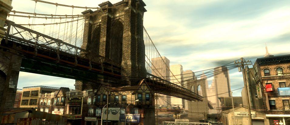 Omfattende flerspiller i GTA IV
