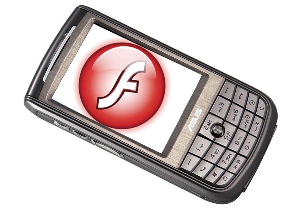 Alle Windows-telefoner får nå Adobe Flash Lite.