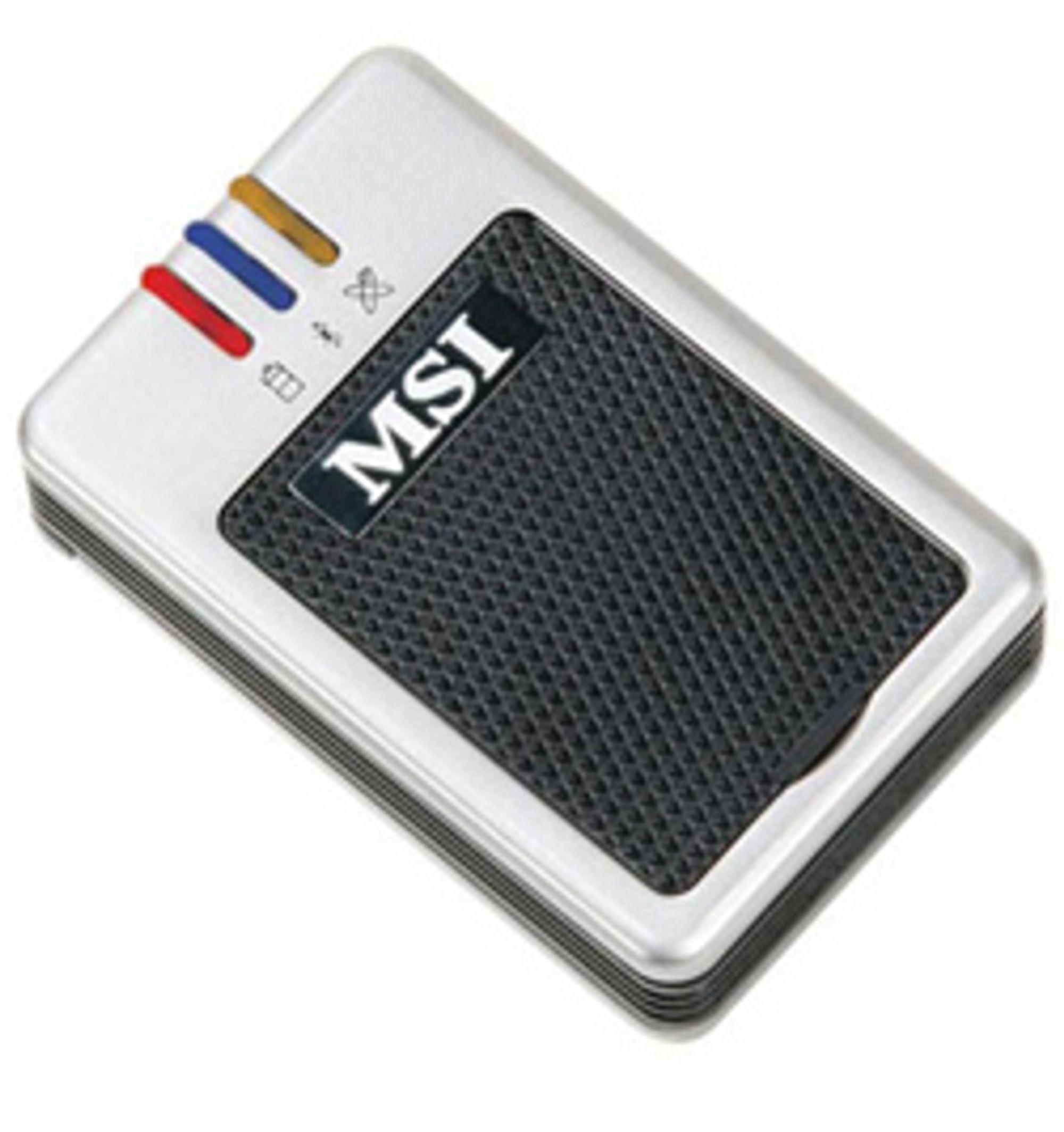Trådløs GPS-mottaker. (Foto: MSI)