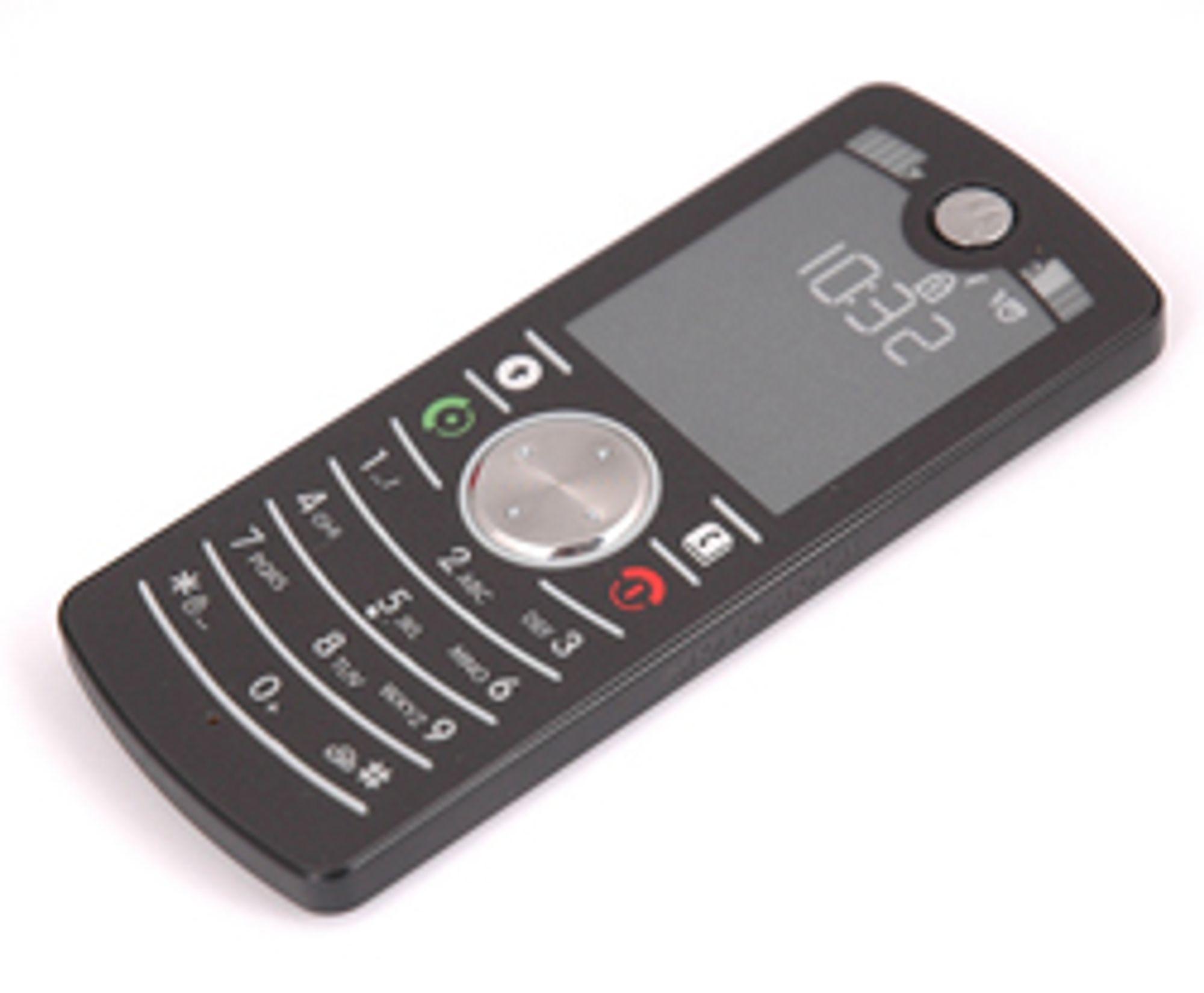 Dette er den billigste mobiltelefonen du får kjøpt. (Foto: Marius Valle)