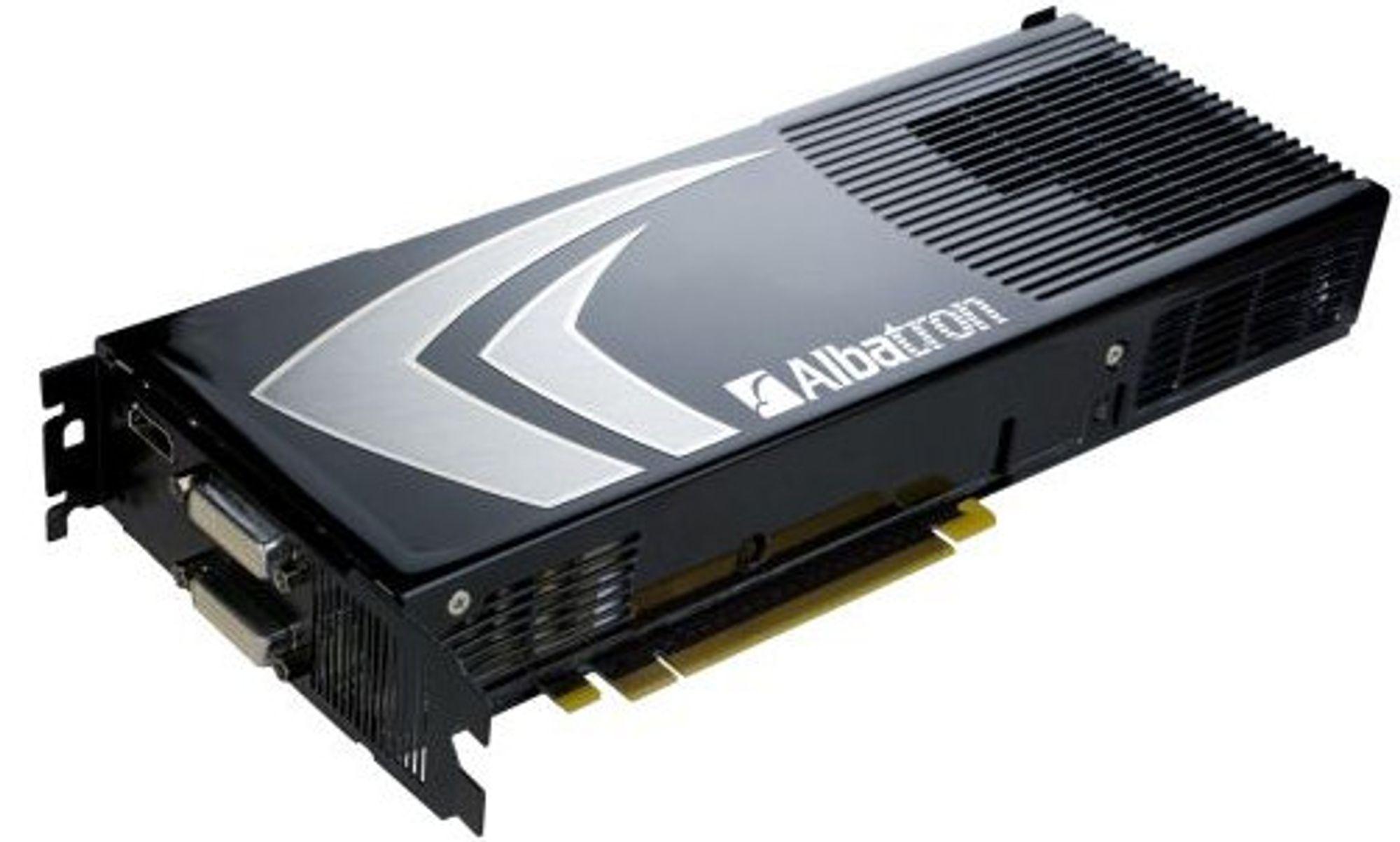 GeForce 9800 GX2 fra Albatron