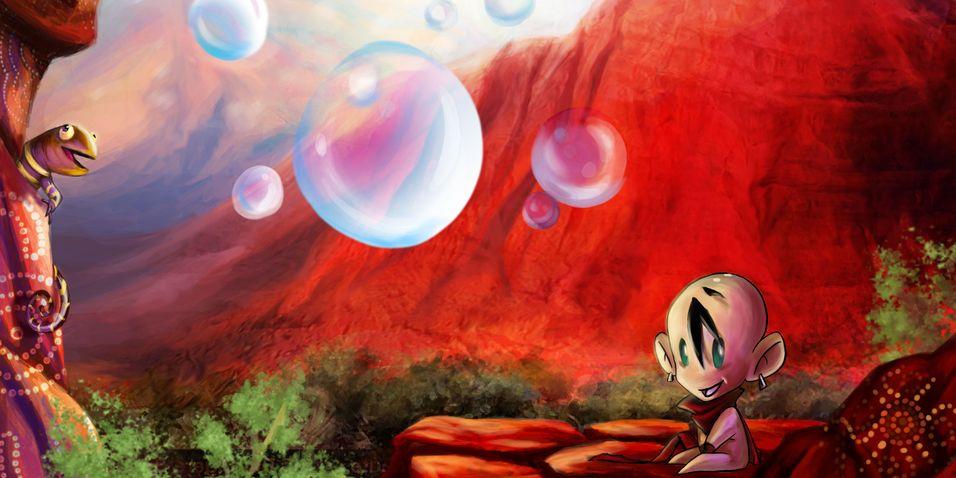 Med bobler i sjelen