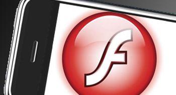 Nå får Iphone Flash