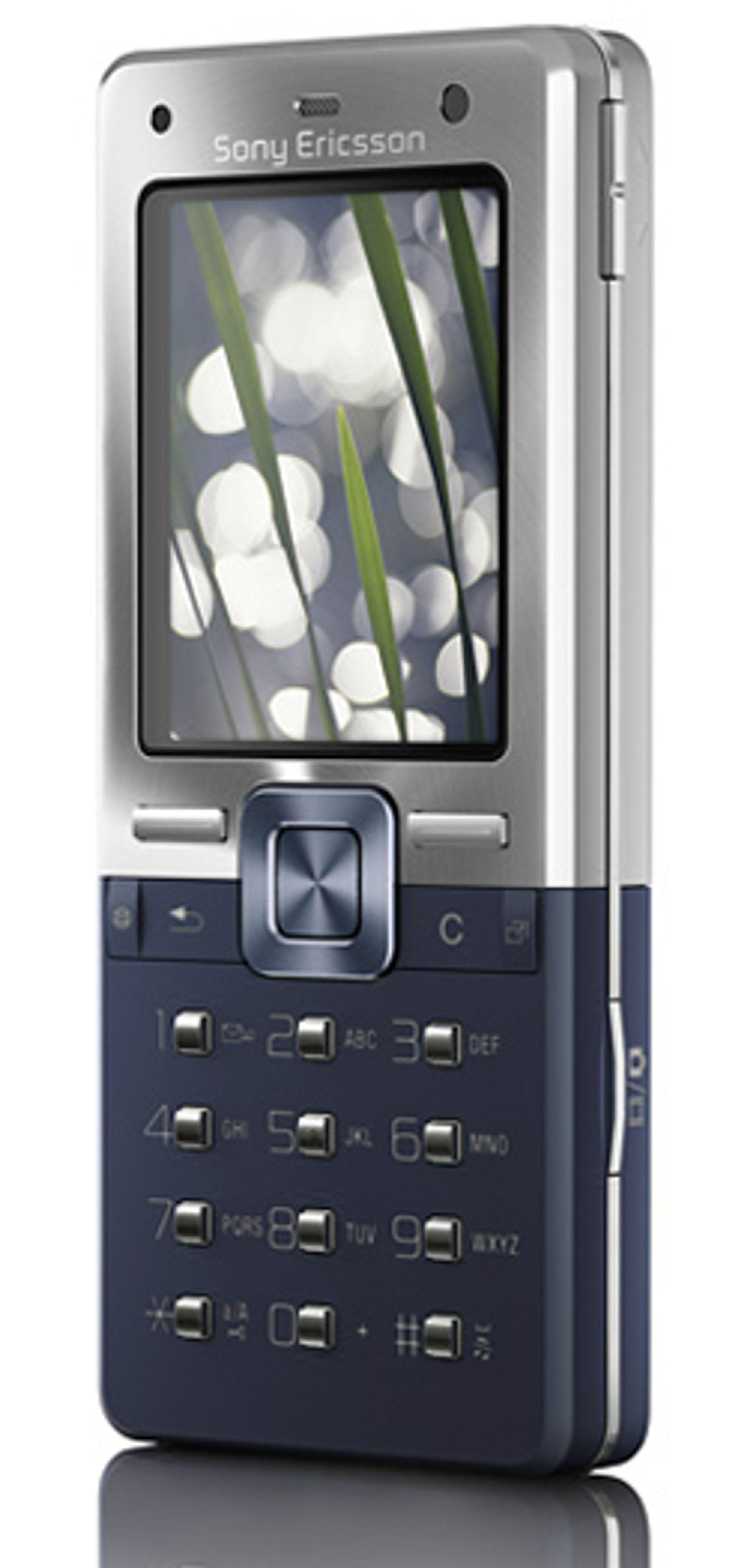 Selskapet selger færre telefoner som denne. (Foto: Sony Ericsson)