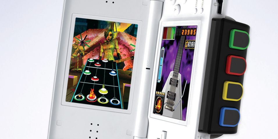 Guitar Hero inntar DS