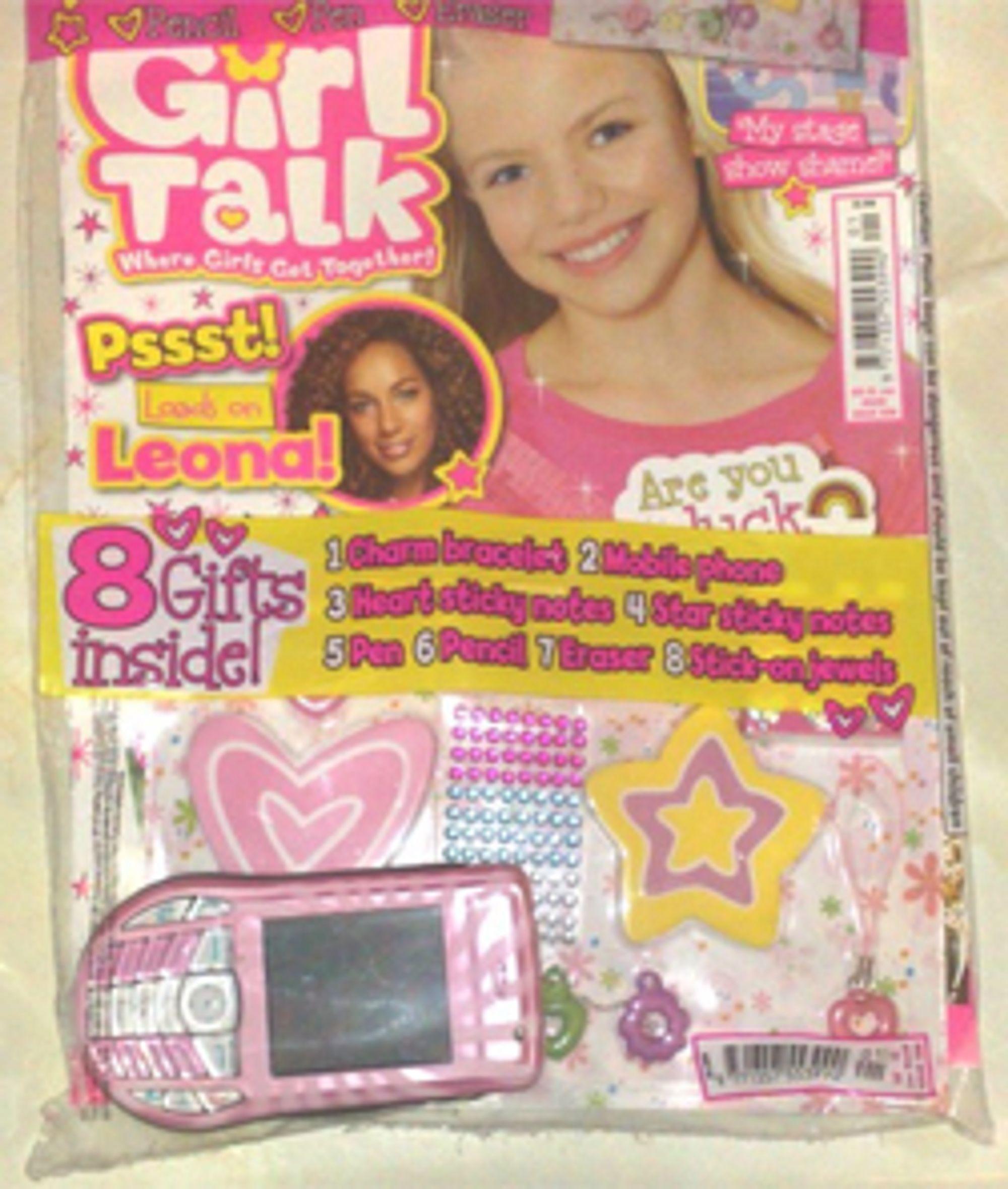 Girl Talk - nå med gratis Nokia 6630!