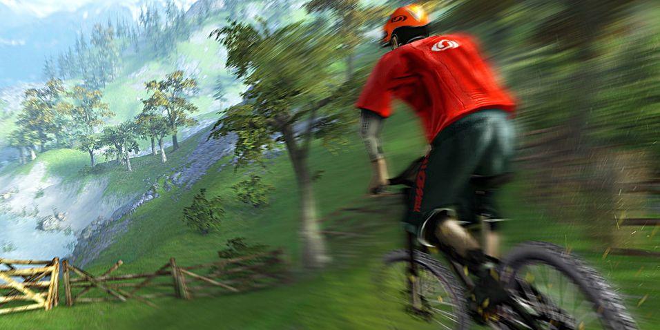 Mountain Bike-spill til PC