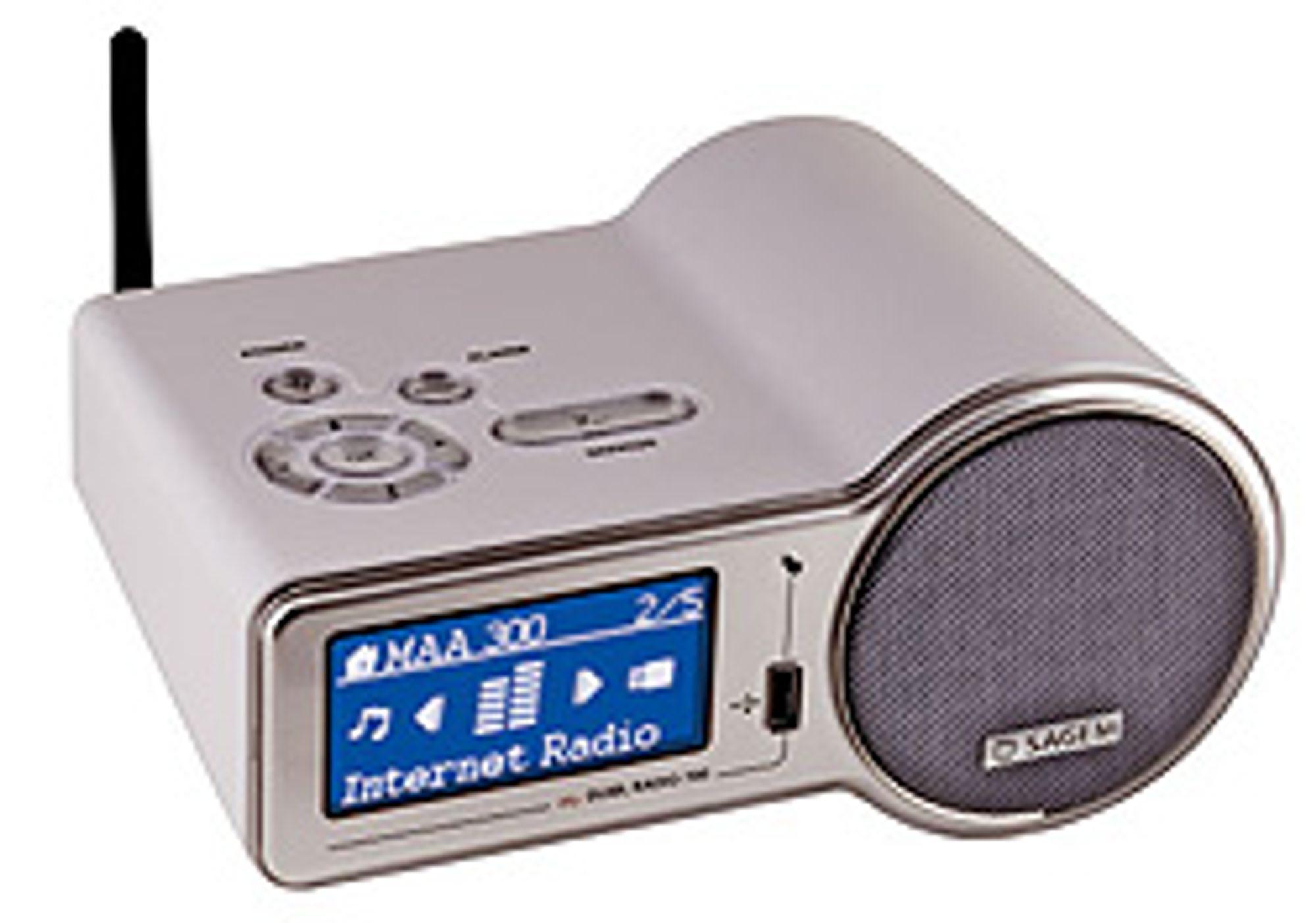 Sagems nye radio er i retro-design. (Foto: Sagem)