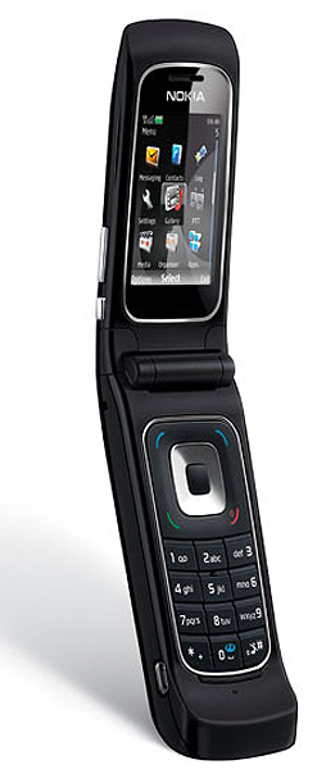 Kamskjelltelefonen 6555 ligner på tidligere 6-serie-kamskjelltelefoner som Nokia 6131.