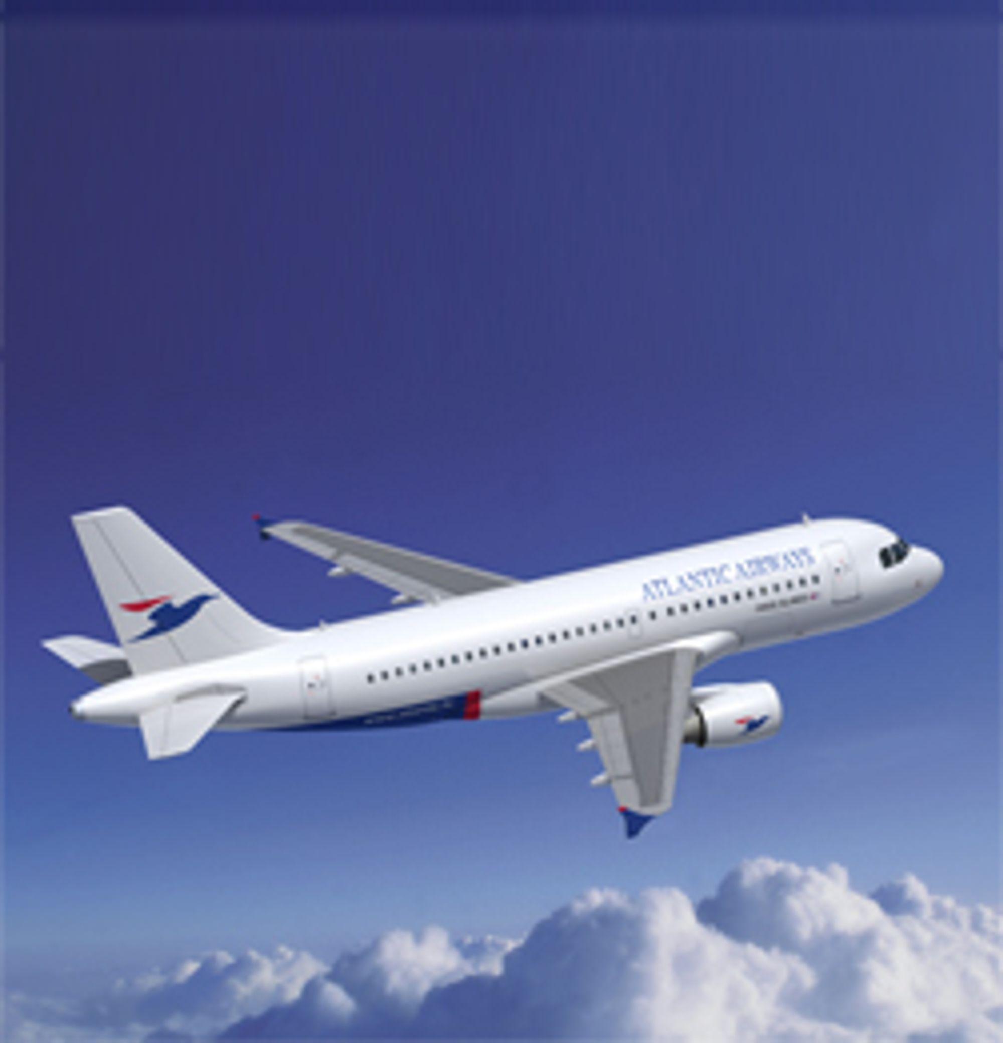 Nå er det lov med mobil på flyet i EU. (Foto: Airbus)