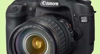 Ny firmware for Canon EOS 40D
