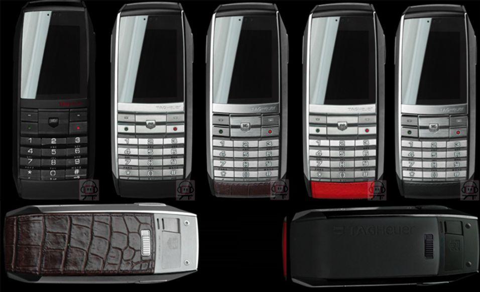 TAG Heuer-mobilen kommer i mange variasjoner.