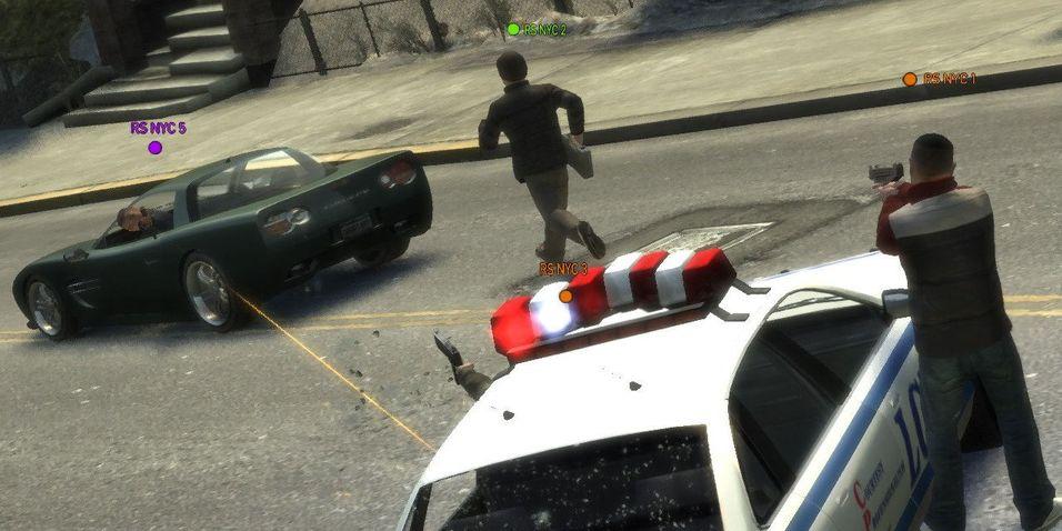 Slik blir GTA IV-flerspiller
