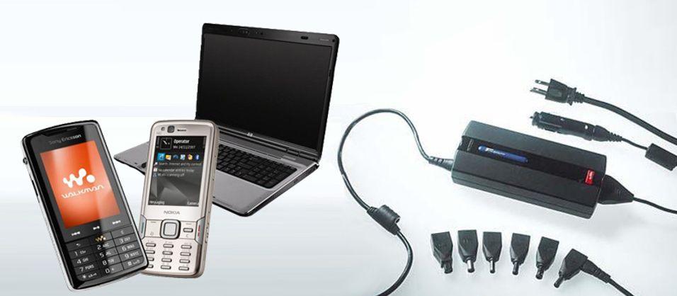 Med Targus' nye strømforsyning kan du lade både mobilen og PC-en på én gang.