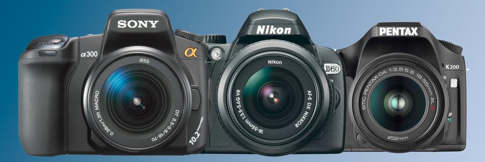 TEST: Sony mot Nikon mot Pentax