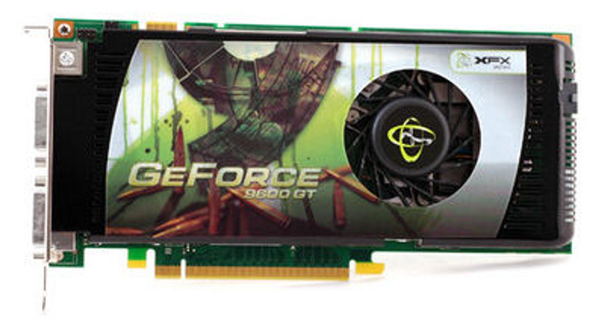 GeForce 9600 GT får snart en lillebror