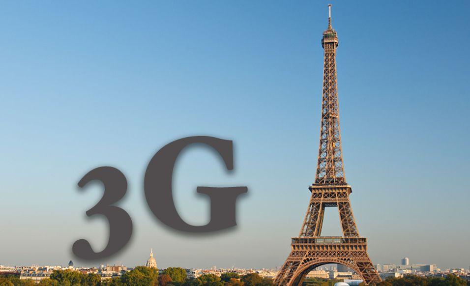 Flere 3G-brukere enn innbyggere i Frankrike. Det er realiteten etter 2007.