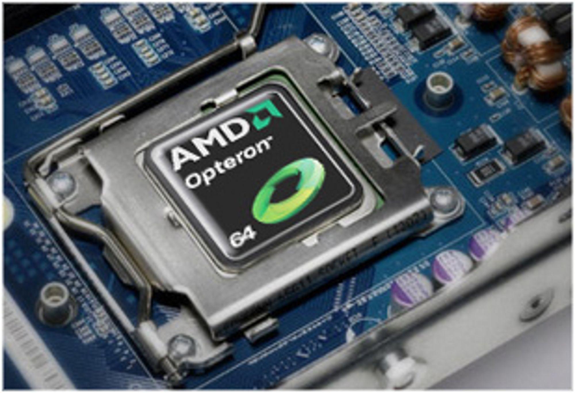 Opteron på 45 nm kan få 12 kjerner
