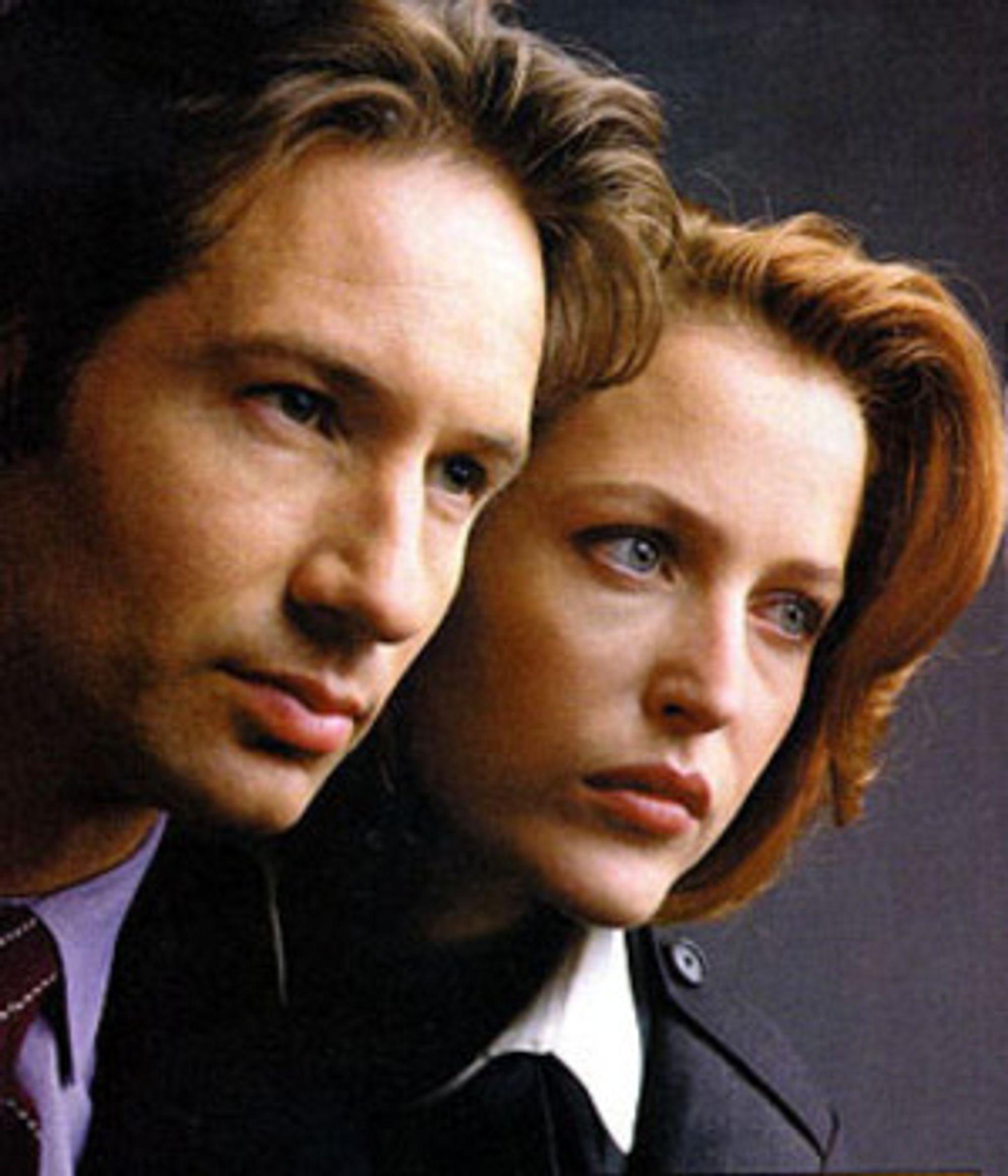 Mulder og Scully fra den originale TV-serien.