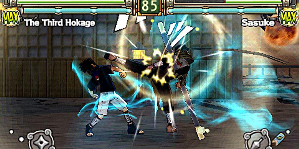 Nytt Naruto-spill på PSP