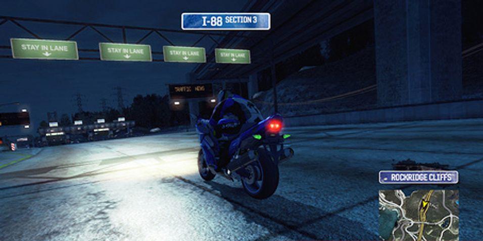 Motorsykler i Burnout