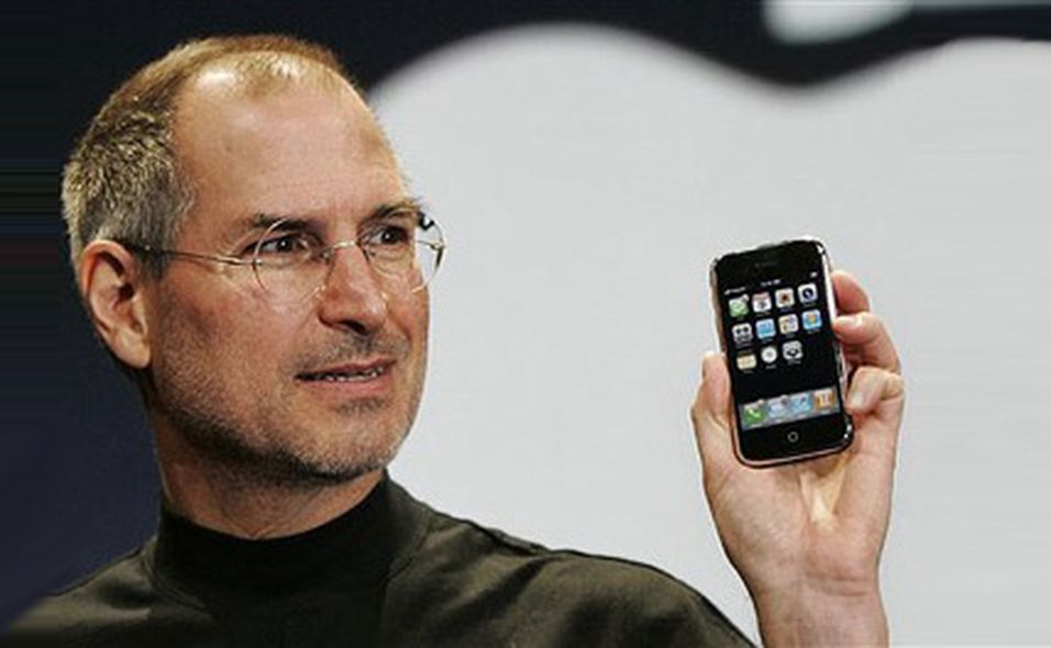 Steve Jobs presenter Iphone på Macworld 2007