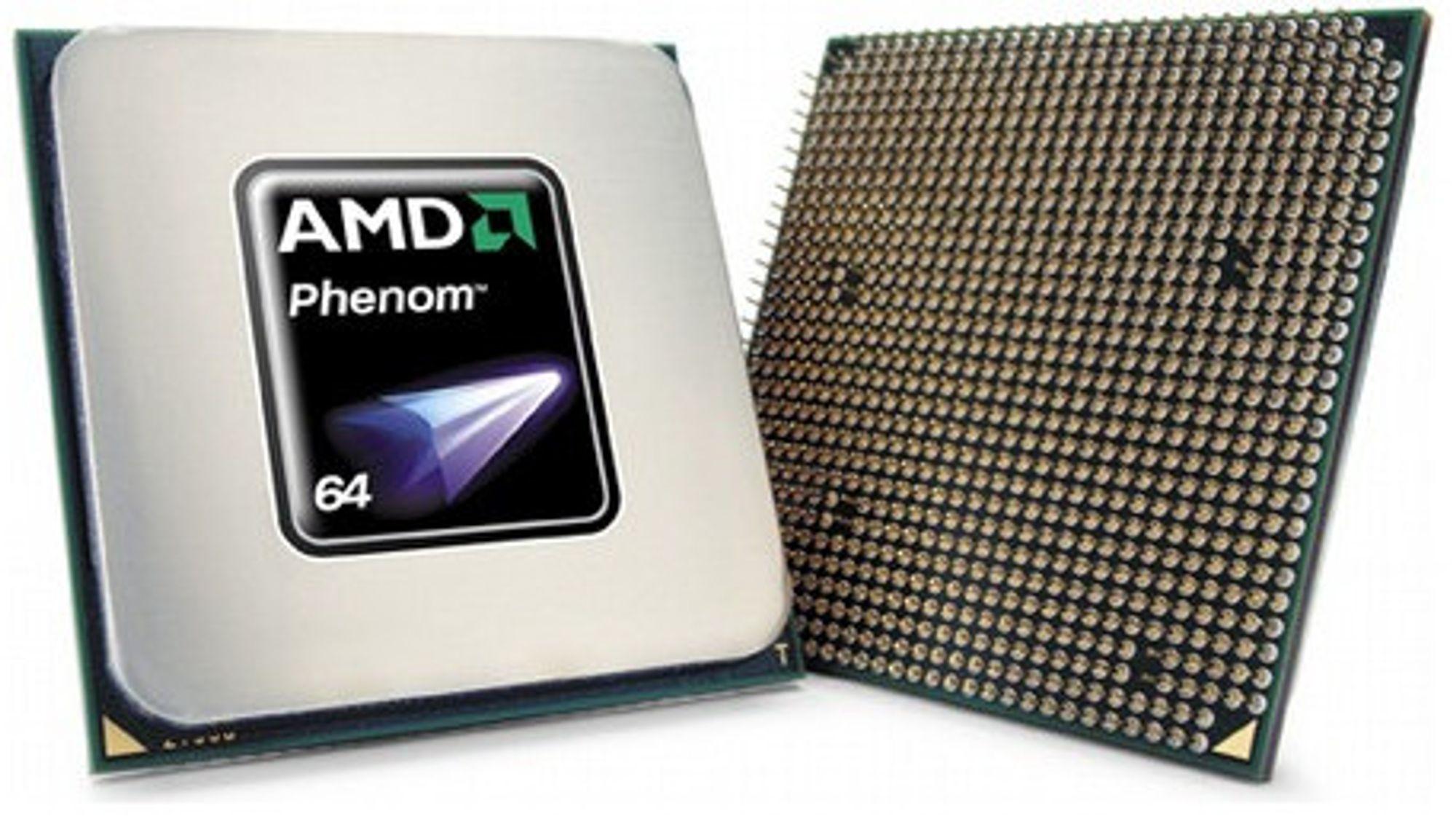 Phenom kommer med 45 nm-teknologi senere i år
