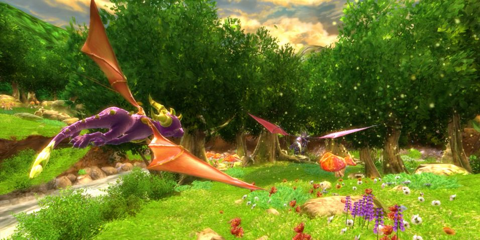 SNIKTITT: The Legend of Spyro: Dawn of the Dragon