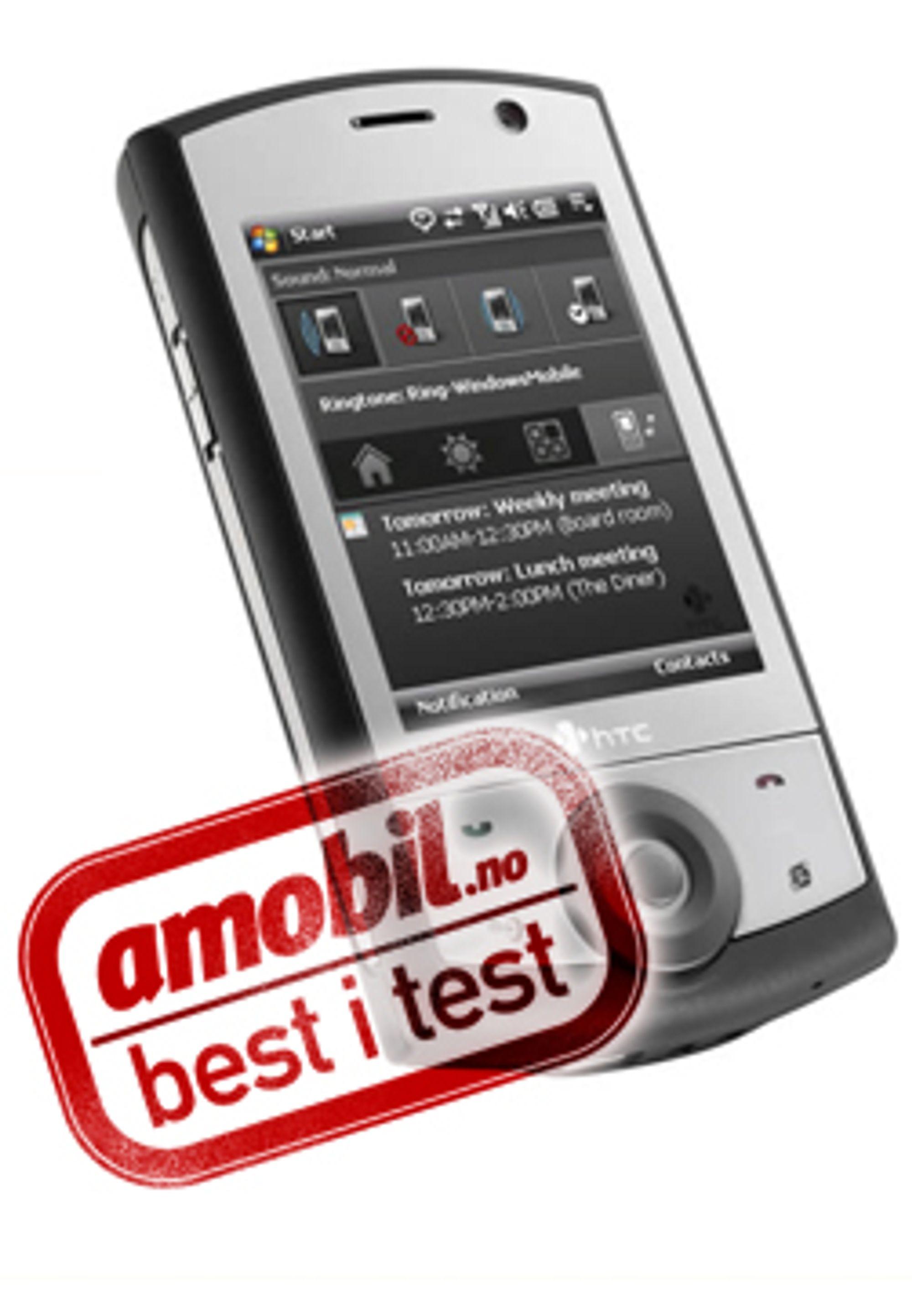 HTC Touch Cruise er en svært god GPS-mobil.