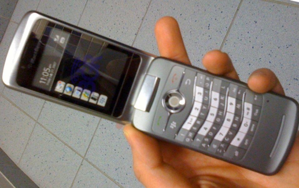 Dette skal være verdens første Blackberry i kamskjelldesign.
