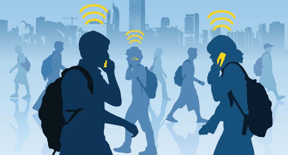 Nordmenn er blant verdens mest oppkoblede folkeferd, og vi bruker aller helst wifi.
