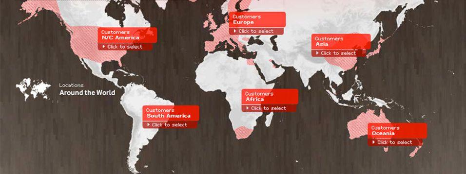 Vodafone er verdens nest største operatør med interesser verden over.