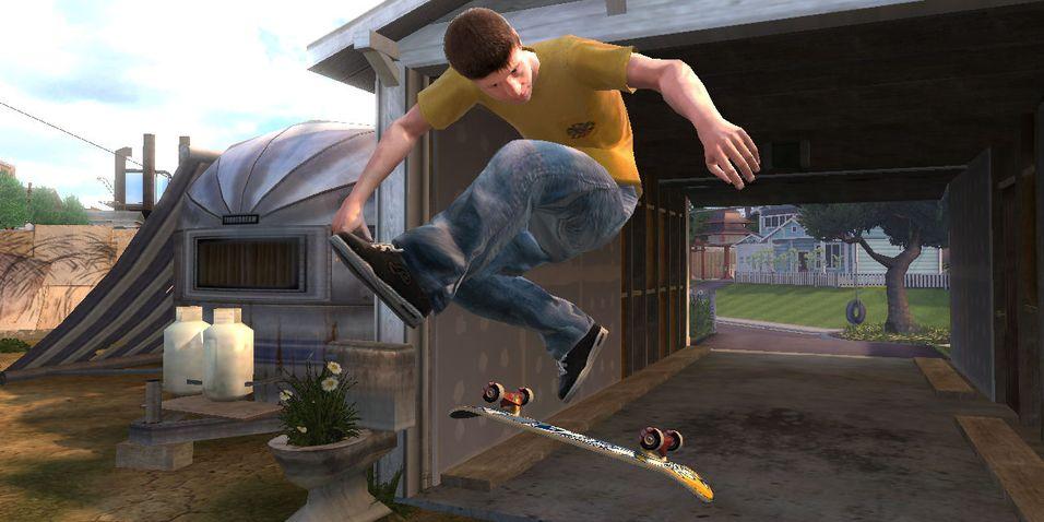 Tony Hawk utfordrer Skate