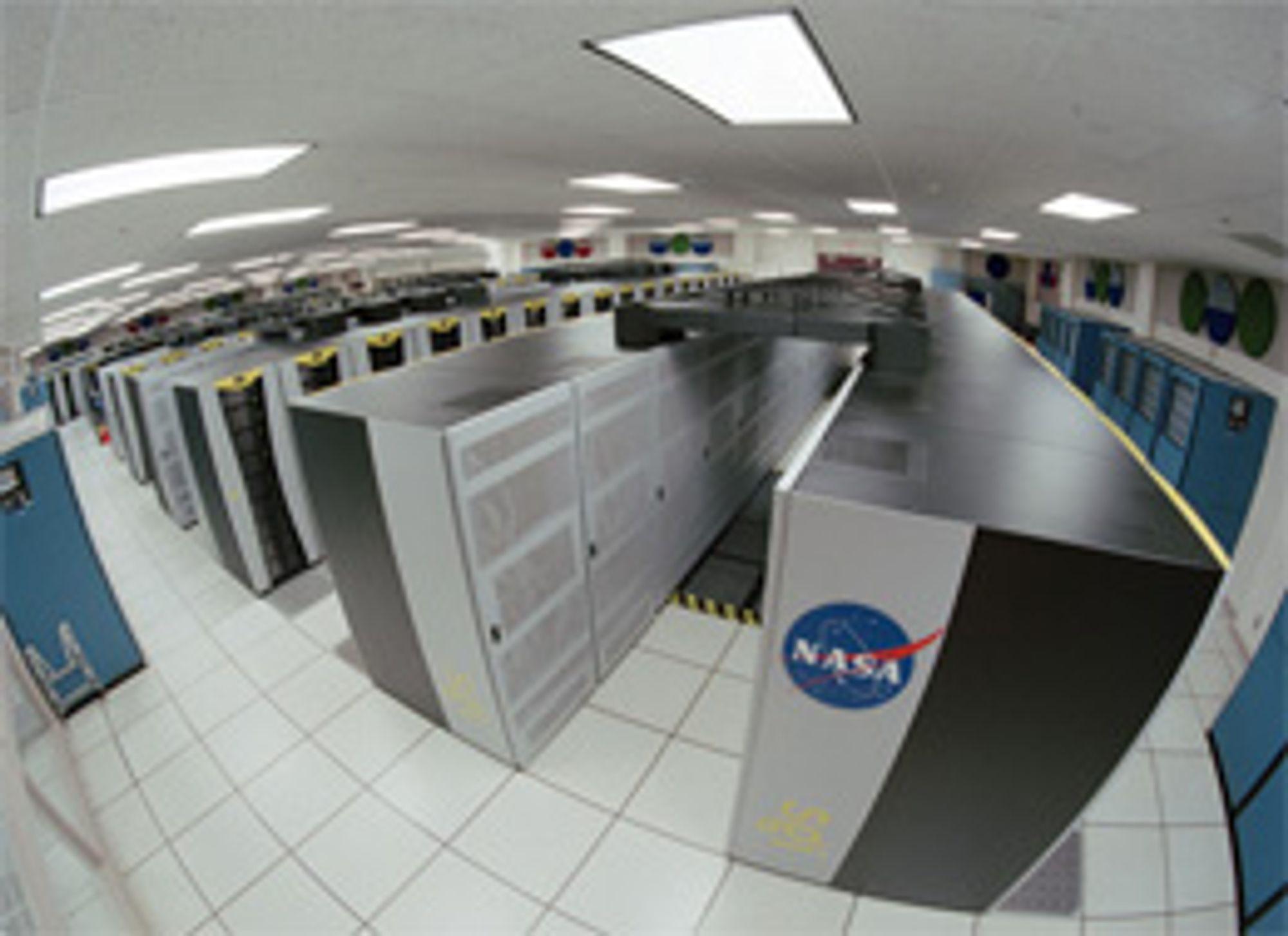 NASA får ny supermaskin. (Foto: NASA)