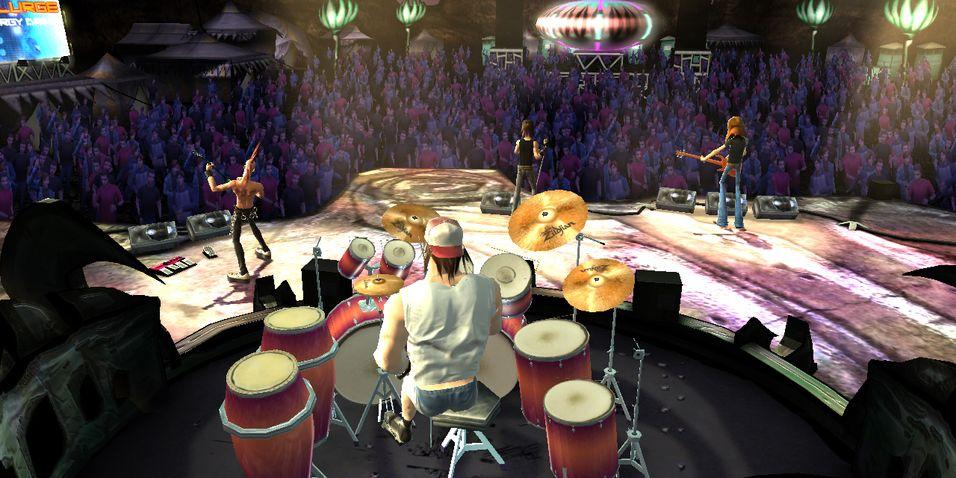 Forandringer for Guitar Hero