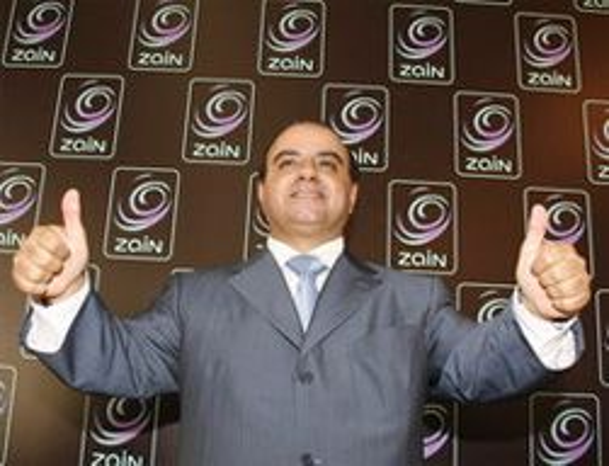 Dr. Saad Al Barrak, sjef i MTC Zain (Foto: Zain)