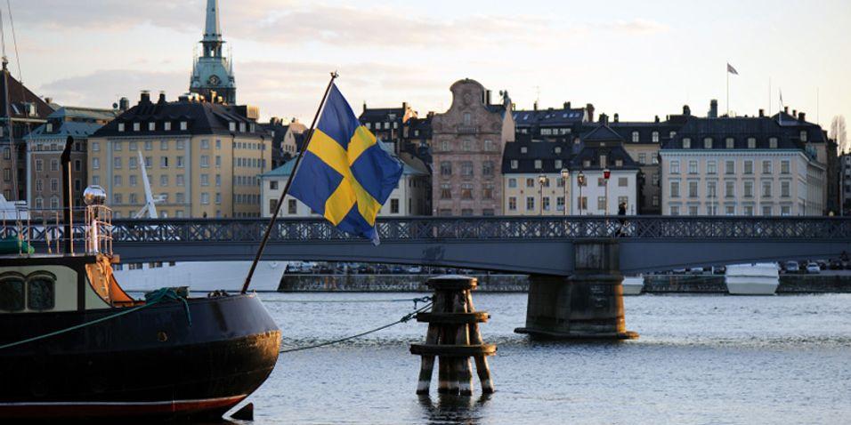 Stockholm har fiber til de fleste husstander, men sliter med å få fiber  fram til eneboliger.