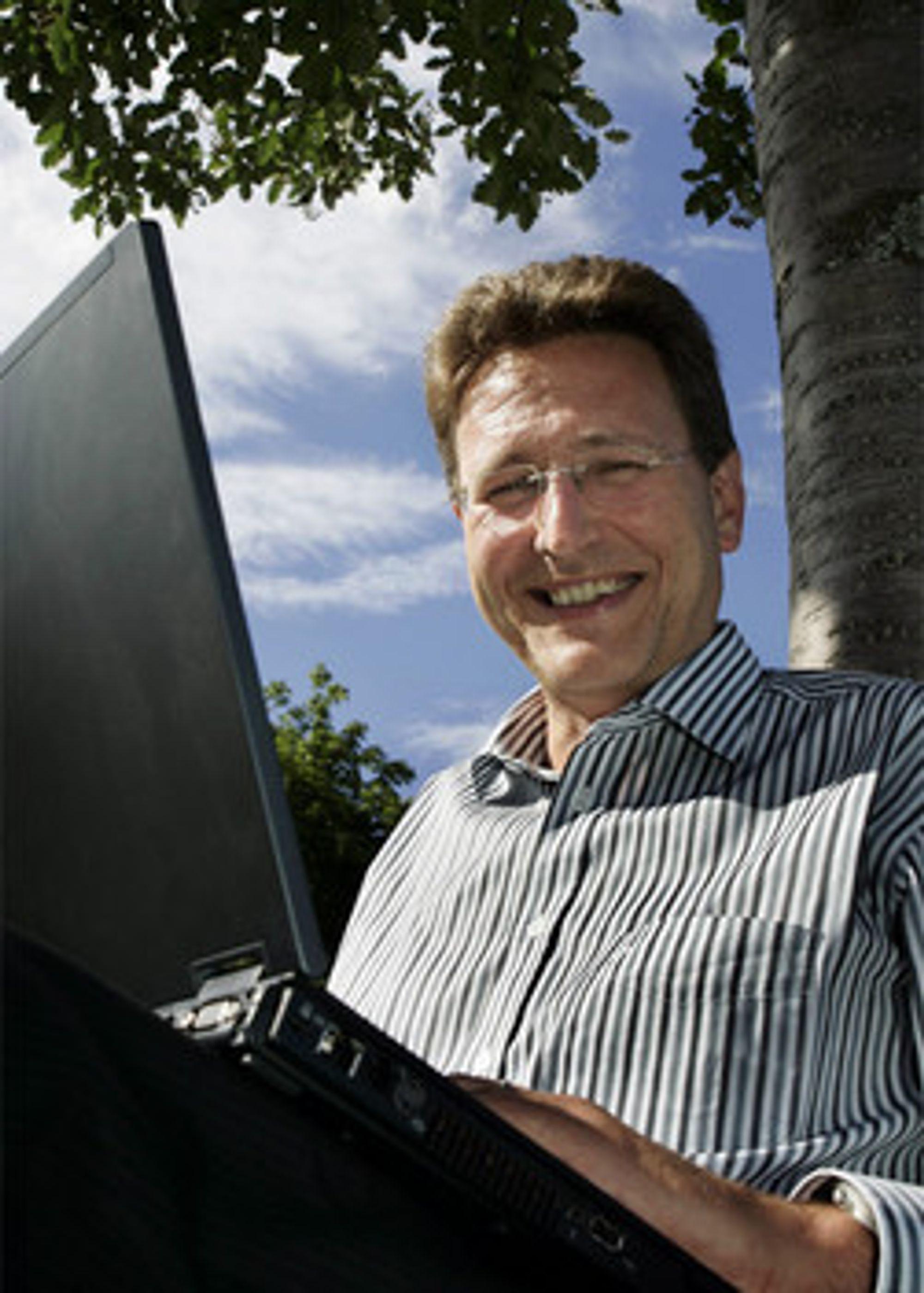 Bransjens helt 1: Matthias Peter i Ice.net (Foto: Ice.net)