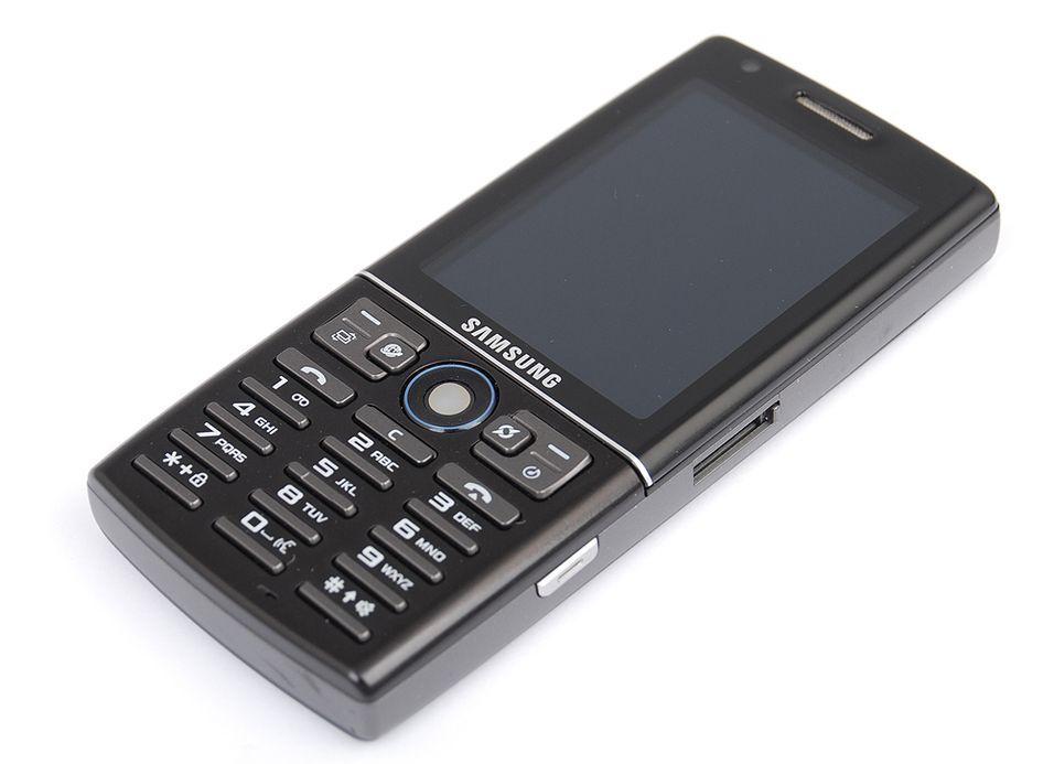 Samsung I550 er en Symbian-telefon med GPS.
