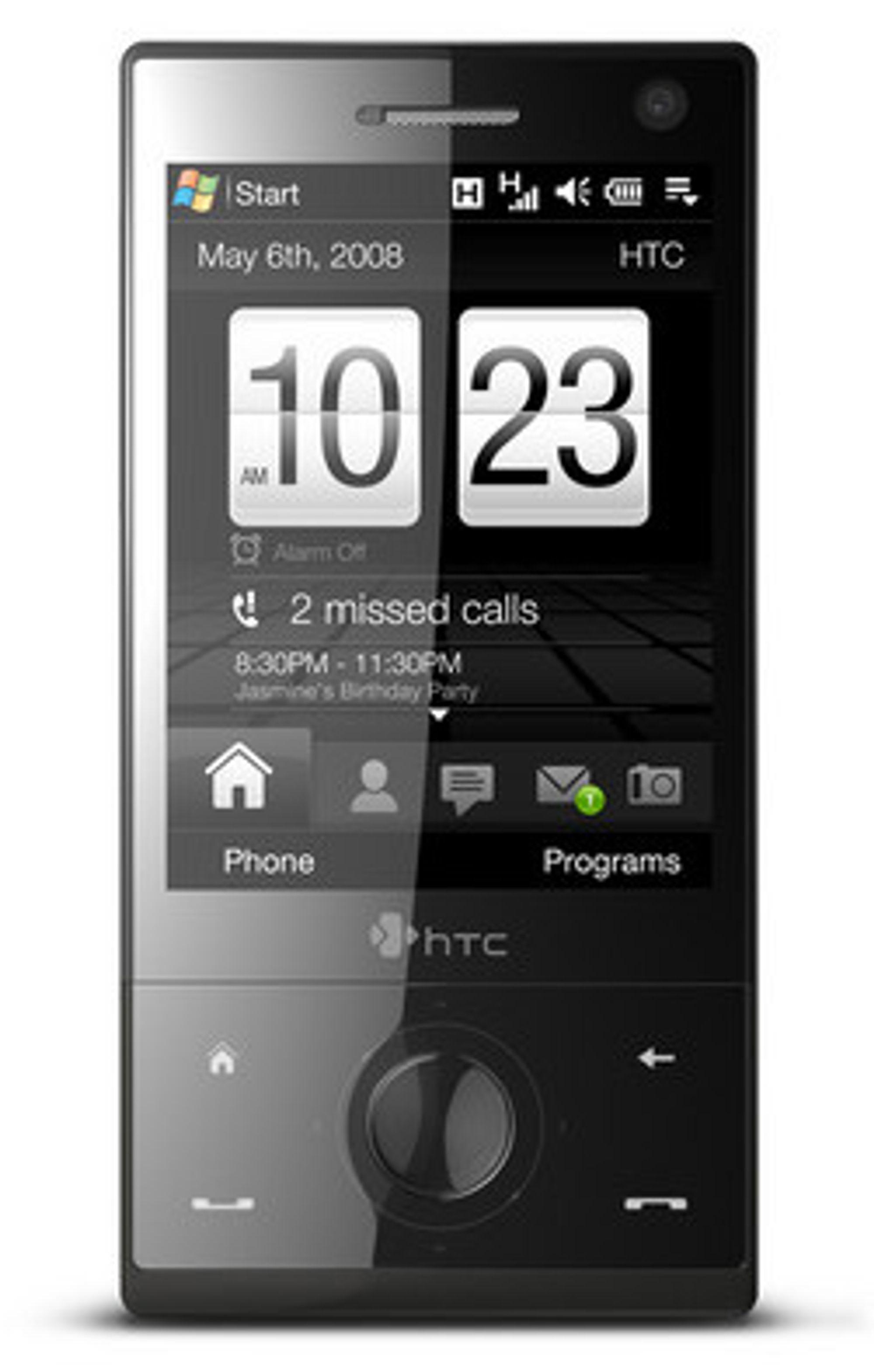 Menyene i Touch Diamond er helt nye. (Foto: HTC)