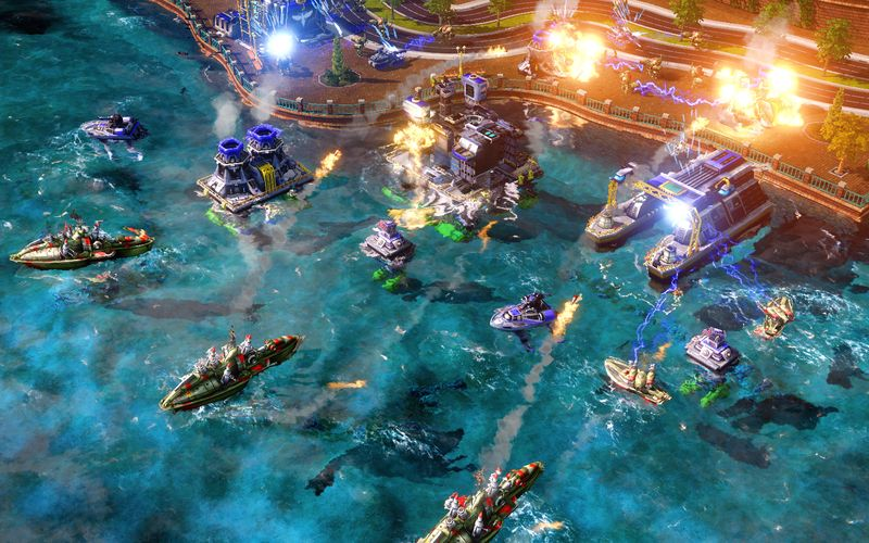 Command & Conquer Red Alert 3. Игра Command & Conquer Red Alert 3.