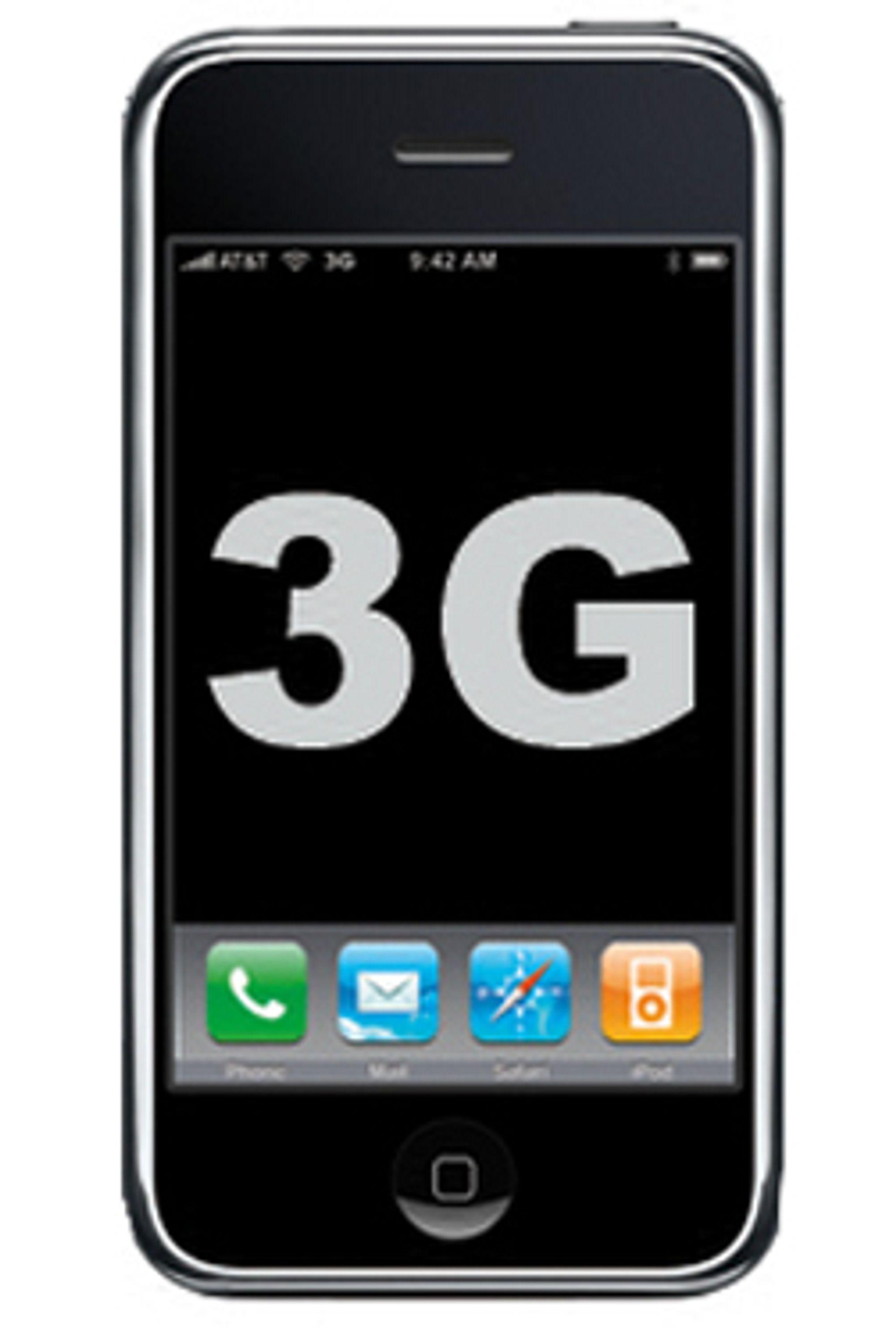 3G-Iphone er bare uker unna.