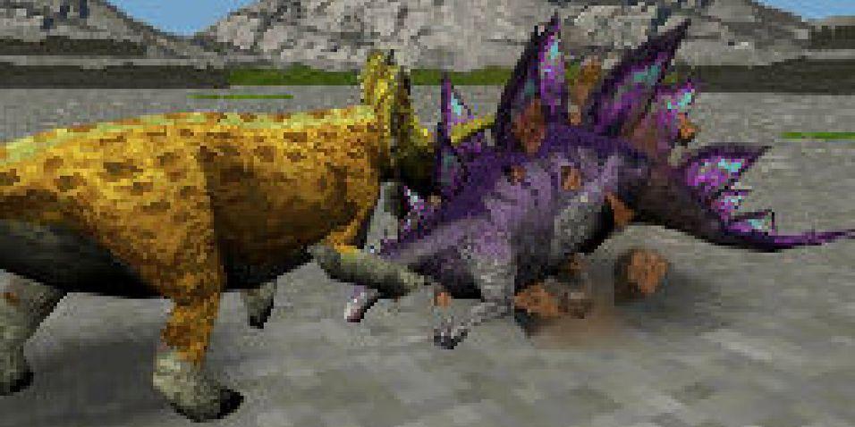Dinosaurkamp på DS