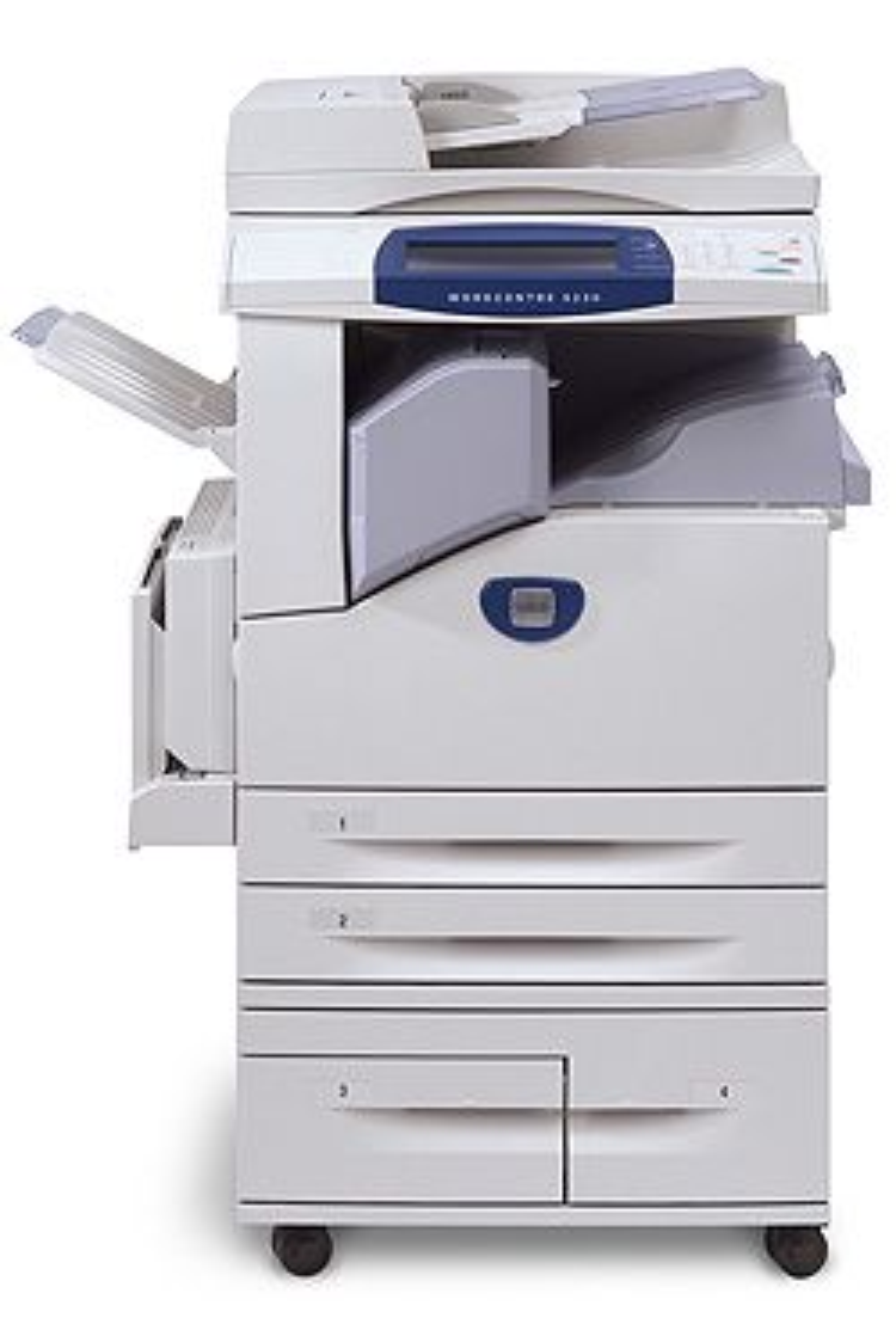 Xerox' nye toppmodell, Workcentre 5225/5230. (Foto: Xerox)