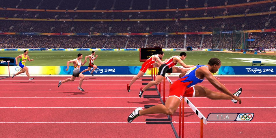 SNIKTITT: Beijing 2008: Official Video Game of the Olympic Games