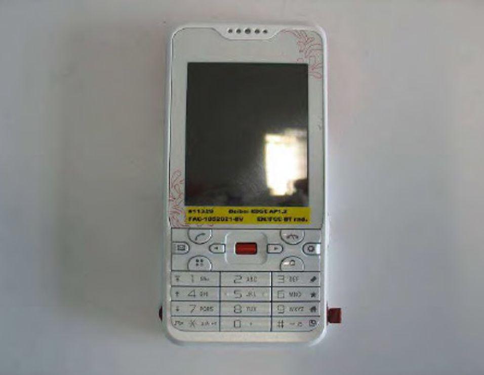 Dette er Sony Ericsson G702